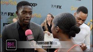 Damson Idris 'Snowfall' Season 2 Premiere
