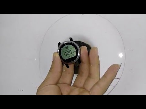 Makibes F69 Heart Rate Monitor Work Underwater -Test
