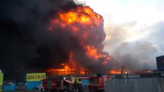Пожар на Парнасе - Санкт-Петербург