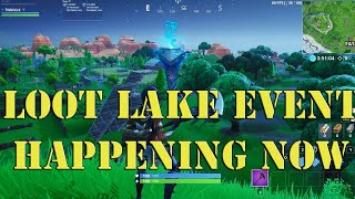 NEW Skin NiteHare Gameplay - CRAZY LOOT LAKE EVENT HAPPENING RIGHT NOW - NEW FORTNITE LIVE EVENT