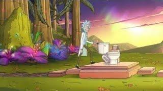 #РикиМорти 18+  Божественный унитаз Рика best Fun