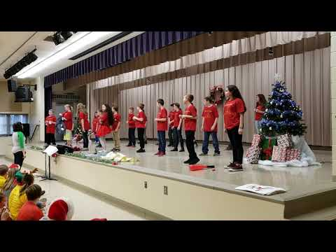 Mrs. Drury's Class Callahan Intermediate School Singalong 2018