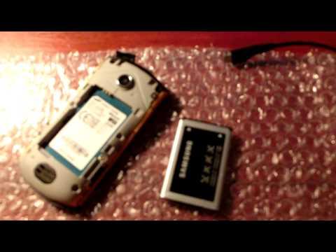 Samsung S5620 Monte Problem