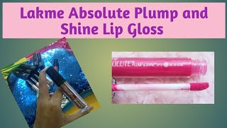 Lakme Absolute Plump and Shine Lip Gloss Review