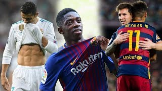 REAL MADRID PIERDE | ¡NEYMAR! ESTO NO PASABA CON MESSI | DEMBELE REGRESARA EN ¿2 MESES?