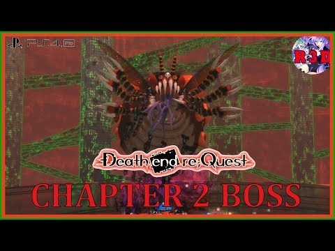 Death End re;Quest - Muga - Chapter 2 Boss Fight (English, PS4 Pro & PS4) - 동영상