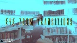 Epic Eye Zoom transitions with Magix Vegas Pro 15 (xxxtentacion MV)