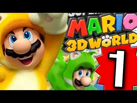 Let's Play Super Mario 3D World Wii U - Part 1