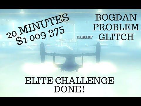 GTA 5 - BOGDAN PROBLEM GLITCH AND ELITE CHALLENGE COMBINED