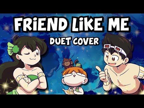 『aladdin-duet』friend-like-me【kathy-chan★-&-djsmell】