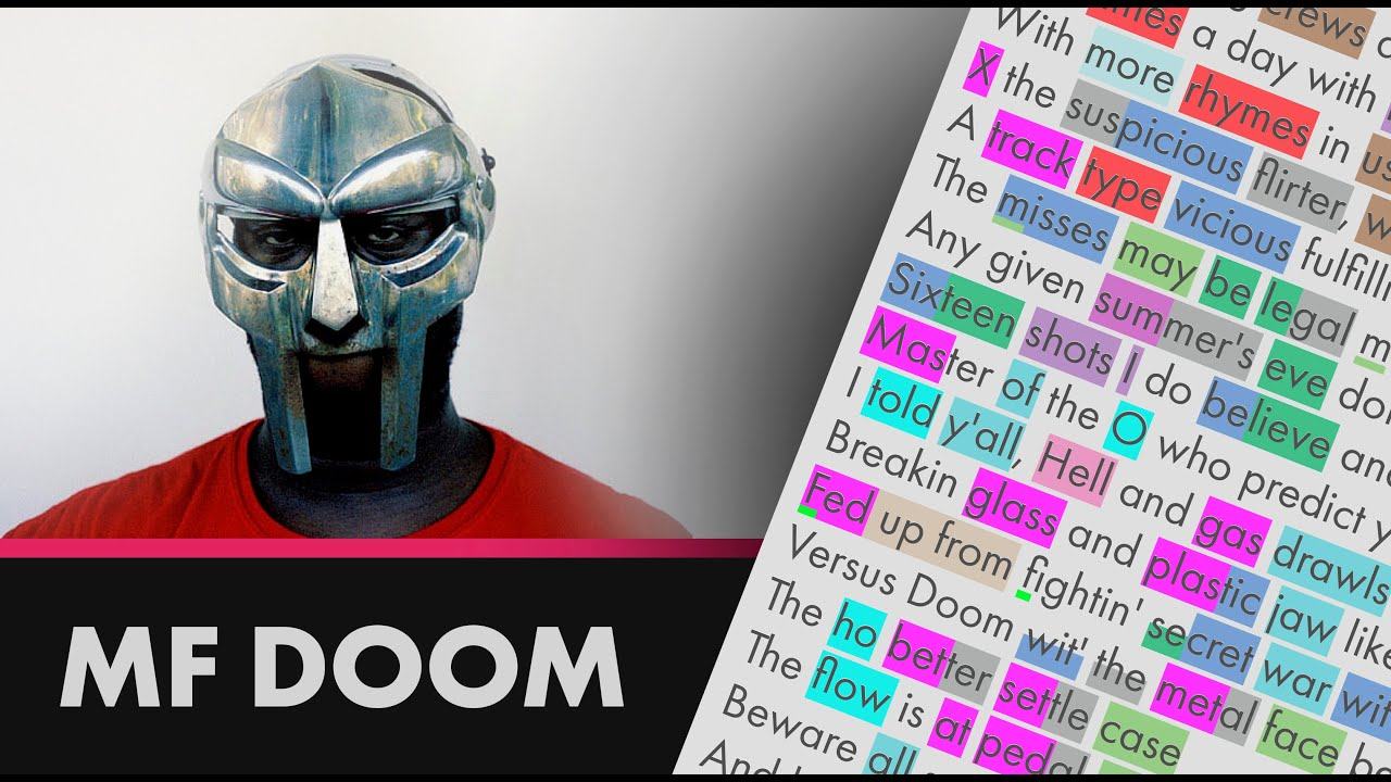 MF DOOM - Gas Drawls - Lyrics, Rhymes Highlighted (207)