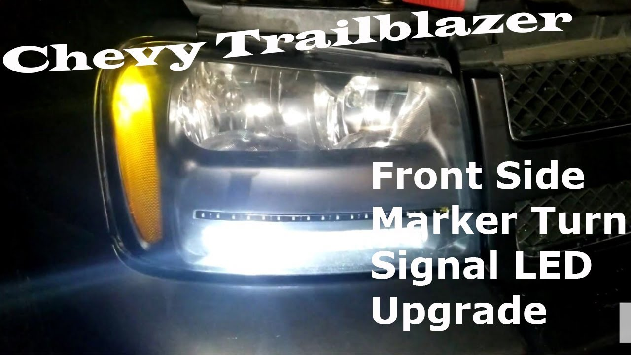Chevrolet Trailblazer Front Side Markers Turn Signals Change Bulbs Led Upgrade