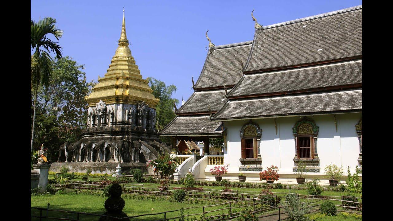 วัดเชียงมั่น Wat Chiang Man - Chiang Mai - YouTube