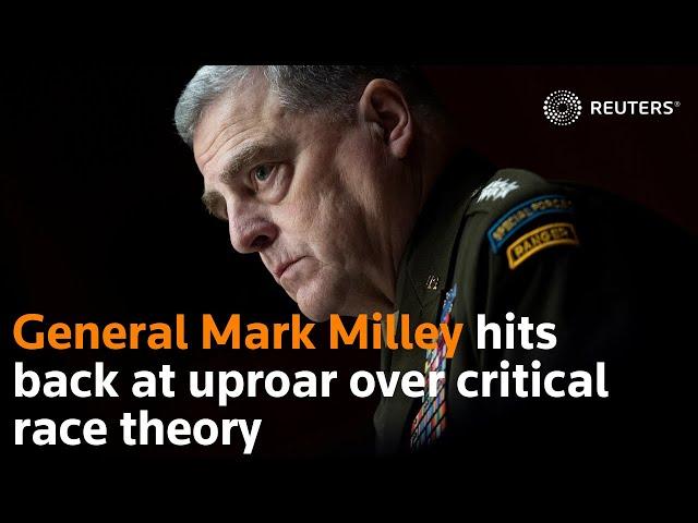 WHITE SUPREMACY AT WAR WITH CRT  GENERAL MILLI VS. THE ACCUSED CHILD MOLESTER MATT GAETZ