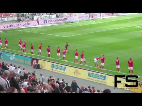 Eintracht Frankfurt Bundesliga Pre-Match Warm-Up