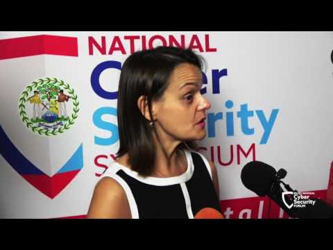 "Adrienne Galanek, U.S. Embassy, Belize: ""Everyone is vulnerable to cybercrime"""