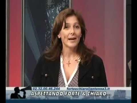 Paola Brodoloni (Cuore e Parole Onlus) da Roberto Poletti a 'Forte e Chiaro', Antenna 3