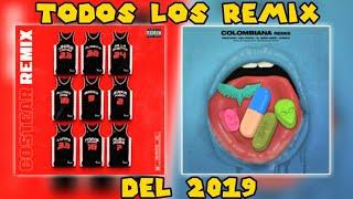 Todos Los Remix Del 2019  (Enero - Febrero) NATION Urban