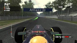 F1 2011 PC Gameplay  Italy Monza