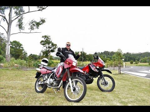 2017 KLR 650 VS 2006 KLR 650 Test Ride