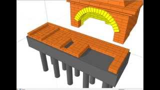 Как самому построить комплекс барбекю для дачи.(Сборник всех описаний печей, печатные материалы и чертежи печей на нашем сайте: http://теплоблок18.рф/procect-kaminov-pe..., 2014-08-03T10:54:10.000Z)