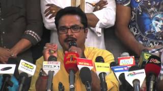 Actor Sarath Kumar Meets Press on Nadigar Sangam Issue and Elections