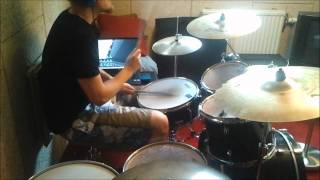 In Flames - Dial 595-Escape Drum cover!  [TheAmagaaad]