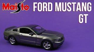 Розпакування Maisto (1:24) Ford Mustang GT