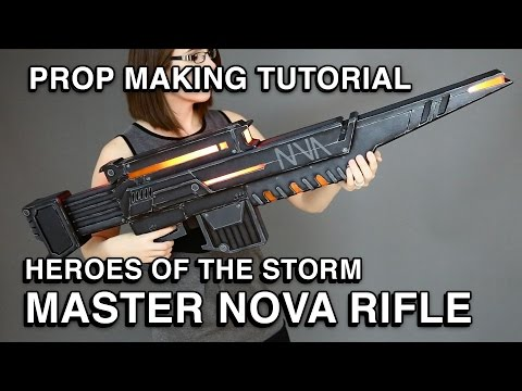 Making of Nova's Rifle -  Heroes of the Storm