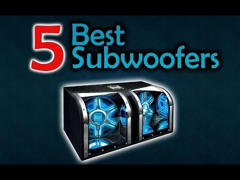 5 Best Subwoofers - Get Better Music Experience!