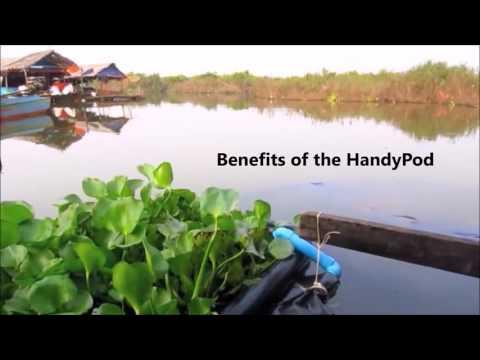 Handy Pod floating toilet innovation by Wetlands Work!
