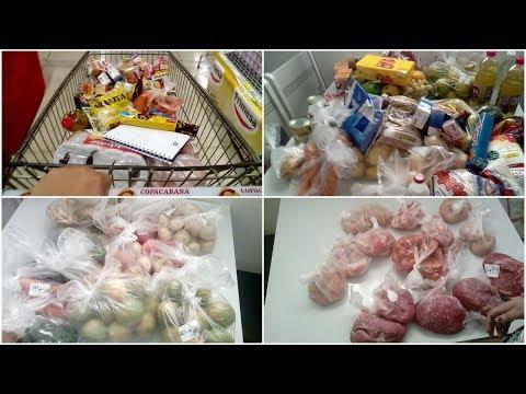VLOG:Economia no supermercado| O que eu comprei com R$385,00?