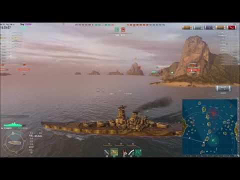 World of Warships - Yamato 270k Dmg !!!