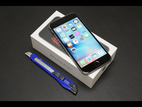 iPhone 6s unboxing (Greek)