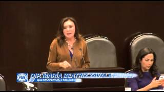 Dip Beatriz Zavala Peniche intervención 08 07 14