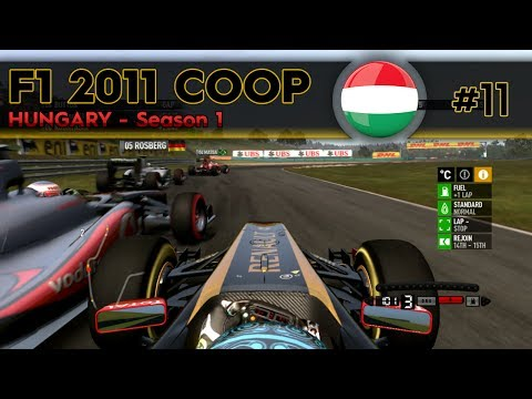 F1 2011 Coop | S1E11 - Hungary | WHAT THE HELL IS GOING ON?!