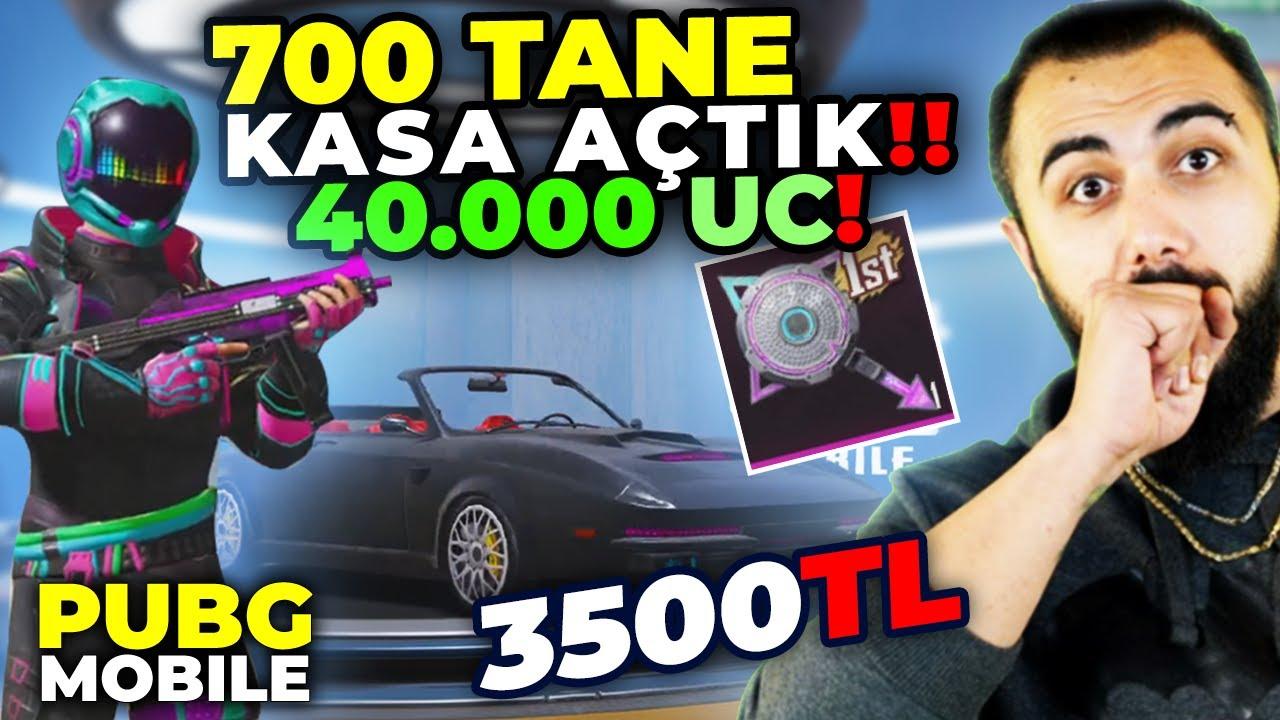 YENİ GELEN KUTULARDAN 700 TANE AÇTIK!! 40.000 UC HARCADIK!! | PUBG Mobile Kutu Açılımı