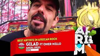 Gilad (Kenya) wins AFRIMA 2017 Best Artiste in Africa Rock