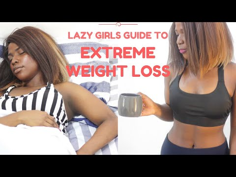 LAZY GIRLS GUIDE TO EXTREME WEIGHTLOSS| LOSE WEIGHT FAST |LIFE HACKS