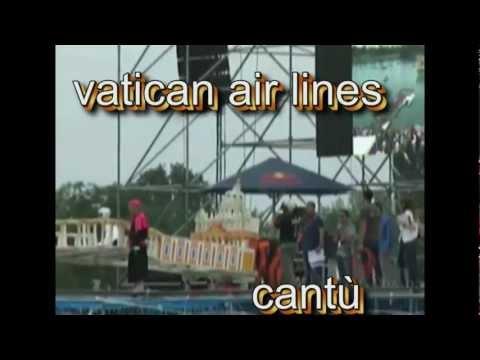 red bull flugtag milano 2012 vatican air lines.