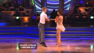 Jennifer Grey and Derek Hough Dancing with the stars WK 9 cha cha cha
