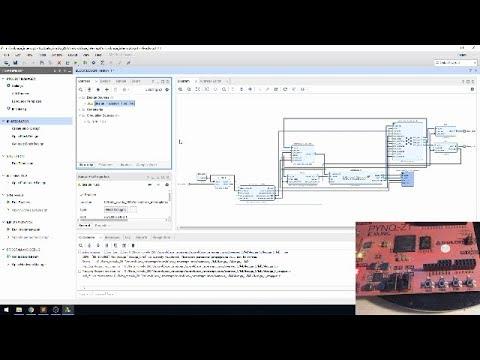 vivado pynq microblaze interrupt tutorial 教程