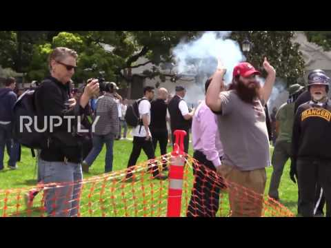 Thumbnail: USA: Berkeley pro-Trump rally descends into violence