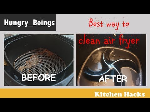 Easy way to clean air fryer