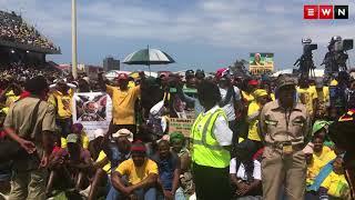 Zuma booed at ANC106 celebrations