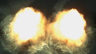 Explosive Cancellation High-Speed Footage