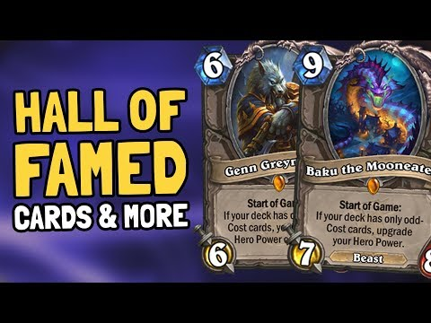 Hall of Fame for Baku & Genn & Others, Year of the Dragon, and More News!