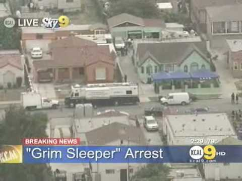 Detectives Search Serial Killer 'Grim Sleeper' Suspect Lonnie Franklin's House
