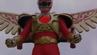 Power Ranger Fuerza Salvaje   Ranger Rojo Modo Batallador
