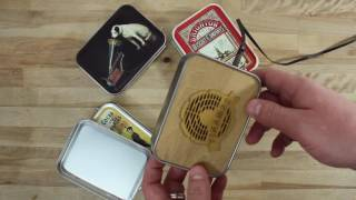 Tin-amps Portable Speakers